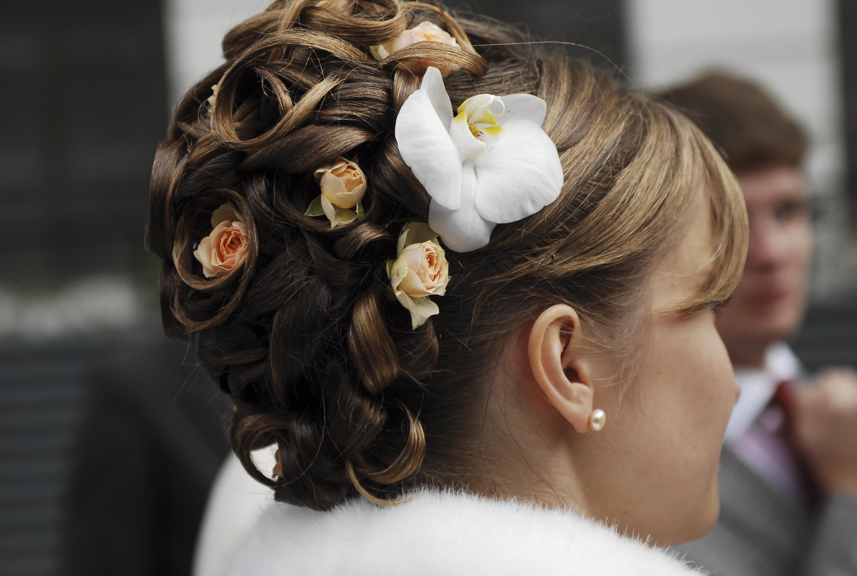 Прически свадебные в астане