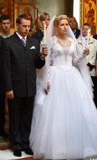 платье для венчания свадебное платье